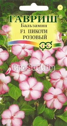 Бальзамин Уоллера F1 Пикоти розовый