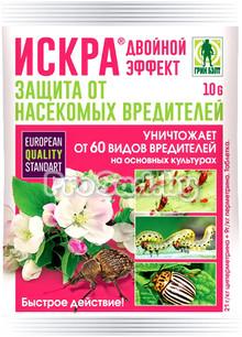 Искра Двойной эффект (для защиты от насекомых-вредителей на сельскохозяйственных культурах)