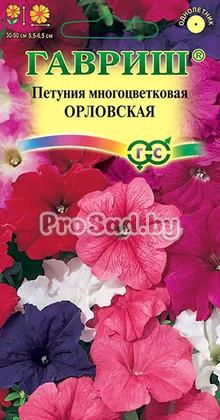 Петуния многоцветковая Орловская, смесь